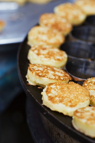 Small coconut pancakes