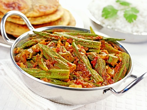 Okra curry (India)