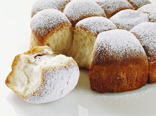 Cherry Bread Rolls