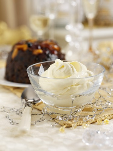 Clotted cream as part of Christmas dinner