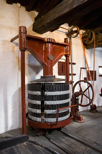 Old wine press (Chateau Lynch-Bages Winery, France)