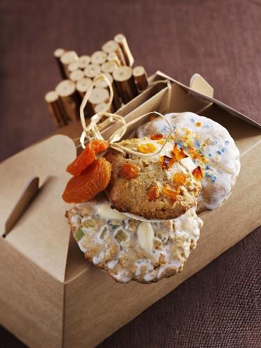 Elisen gingerbread, apricot gingerbread and Nuremberg gingerbread