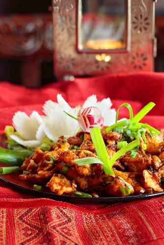 Pakora (baked Indian vegetables)
