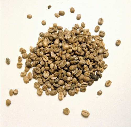 Weakly Roasted Coffee Beans