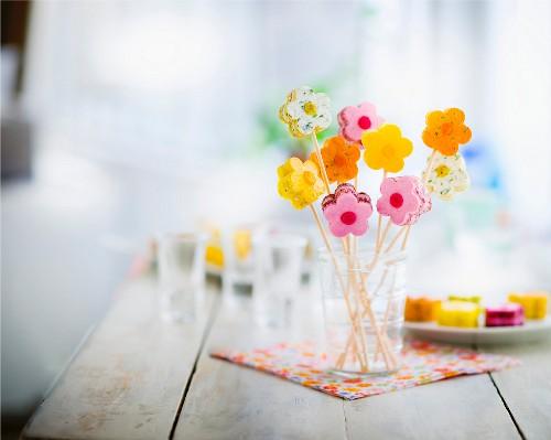 Bunch of aperitif flowers