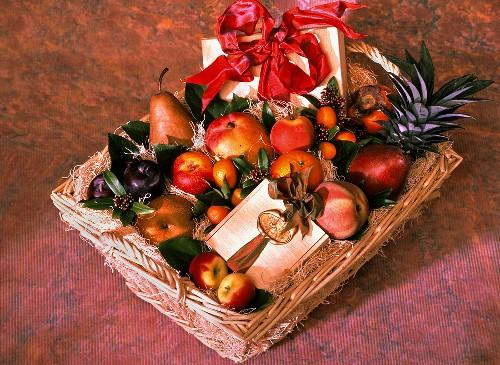 Fruit Basket as a Gift