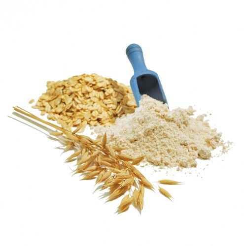 oats and flour
