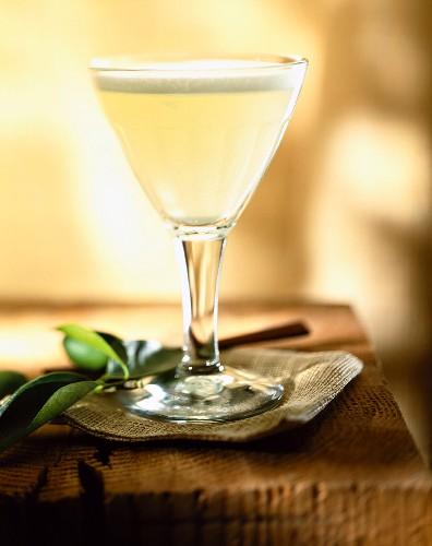 Pisco sour drink