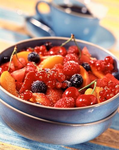 Fruit and Guignolet kirsch salad