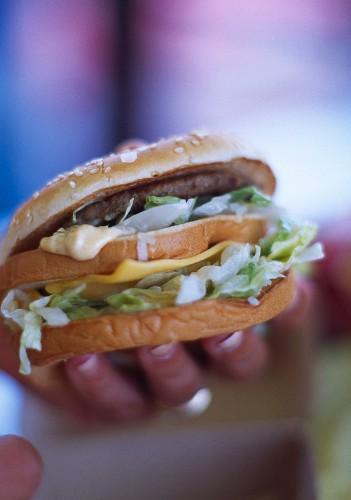 US fast food, hamburger