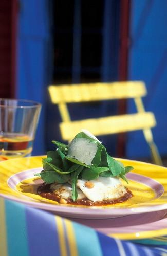Monk fish salad