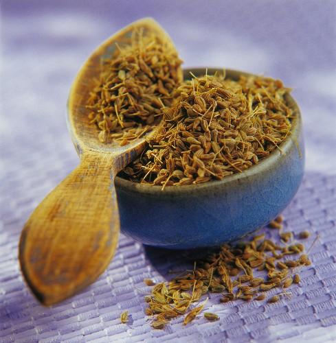 Aniseed grains