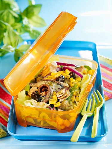 Tuna and pistou salad Niçoise