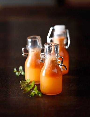Apple,orange and carrot juice