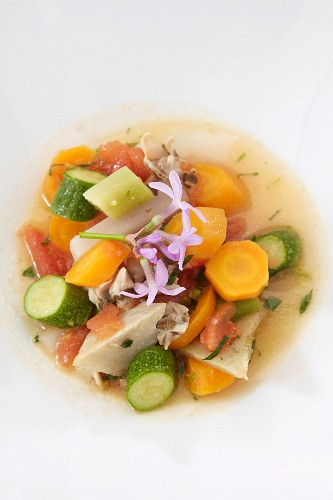 Young vegetable soup
