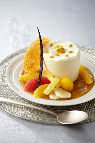 Pineapple-citrus fruit exotic Caprice by Georges Blanc