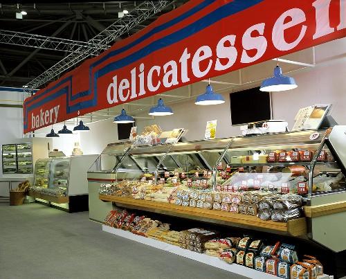 Grocery Store Deli Counter