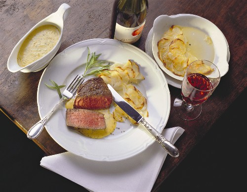 Chateaubriand with Sauce Bearnaise