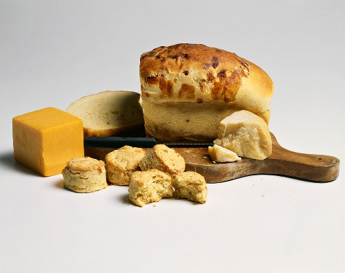 Cheesebread and Cheese Biscuits with Cheese
