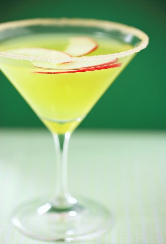 An Apple Martini