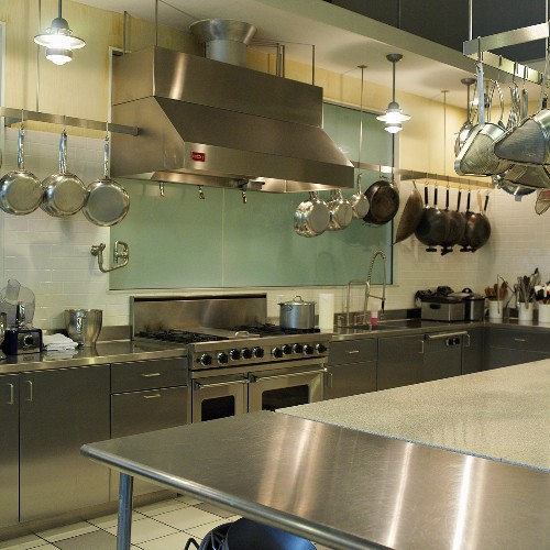 Interior of Commercial Kitchen