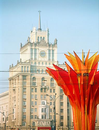 Hotel Peking, Mayakovsky Platz, Moskau, Russland