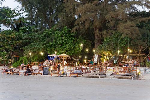 J.J. Seafood Restaurant, Long Beach, Ao Yai, Koh Phayam, Thailand