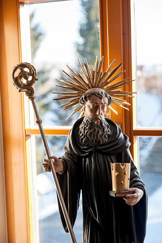 Holzfigur, Stille Nacht, Museum, Kapelle,  katholisches Brauchtum, Weihnachtszeit, christliches Brauchtum, Oberndorf, Österreich, Europa