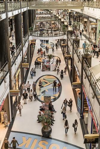 Alexa ,shopping center, interieur, Berlin