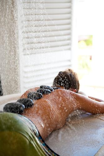 Wellness-Behandlung im Essentia Day Spa im Lizard Island Resort, Lizard Island, Queensland, Australien