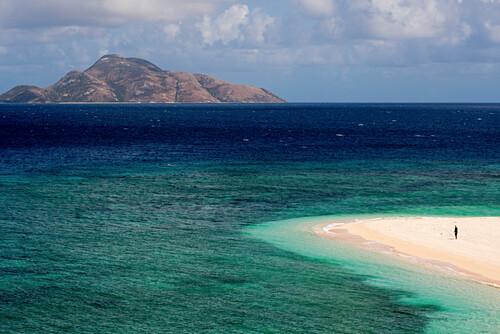 Blick von North Direction Island to Lizard Island, Lizard Island, Queensland, Australien
