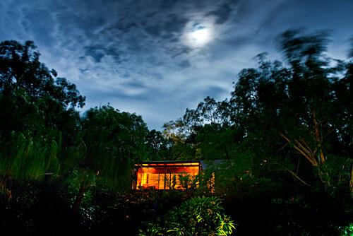 Die Leeward Pavillons im Qualia Resort sind in natürlichen Gärten eingewachsen, Hamilton Island, Queensland, Australien