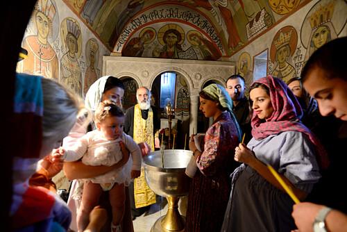 in der Samtawro-Kirche, Mzcheta bei Tiflis, Georgien