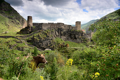 Khertvisi Burg im kleinen Kaukasus, Süd- Georgien