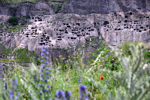 Höhlenkloster Vardzia im kleinen Kaukasus, Süd- Georgien