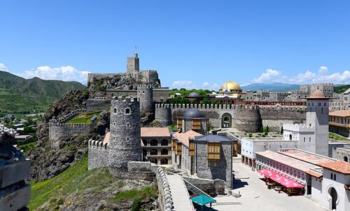 Festungsanlage Rabati, Akhaltsikhe im kleinen Kaukasus, Süd- Georgien