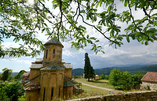 Unesco Weltkulturerbe, Kloster Gelati bei Kutaisi, Georgien