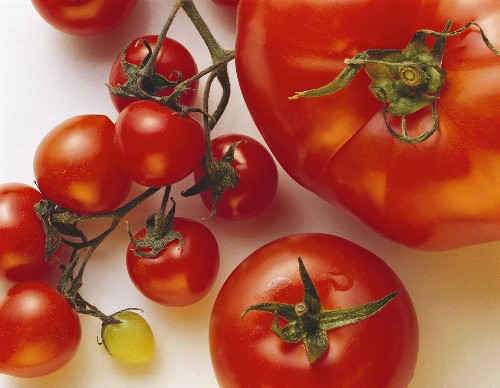 Assorted Kinds of Tomatoes