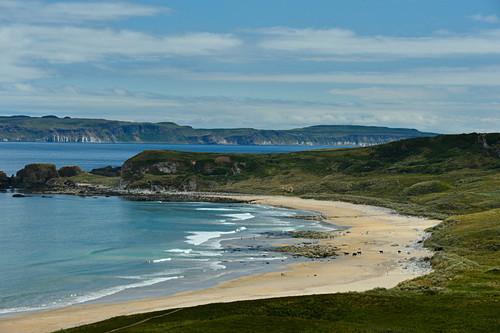 Einsamer Strand in der Nähe von Castlerock, County Londonderry, Nordirland