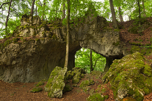 Schönsteinhöhle, bei Streitberg, Fränkische Schweiz, Franken, Bayern, Deutschland