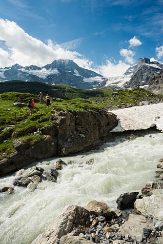 Hinteres Lauterbrunnental, Lauterbrunnen, Mürren, Berner Oberland, Schweiz
