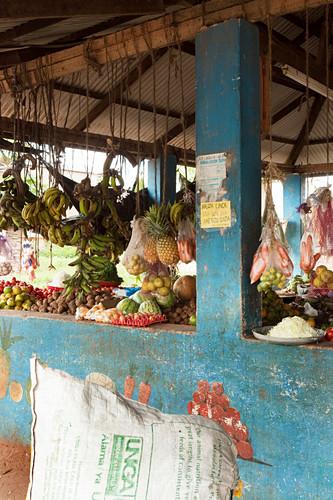 Fruit and vegetable market in Watamu, Watamu, Malindi, Kenya