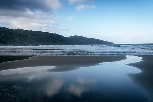 Strand Playa Bahia Mansa, Chile, Südpazifik, Pazifischer Ozean, Südamerika