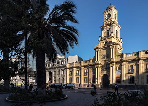 historisches Nationalmuseum am Plaza de Armas, Hauptstadt Santiago de Chile, Chile, Südamerika