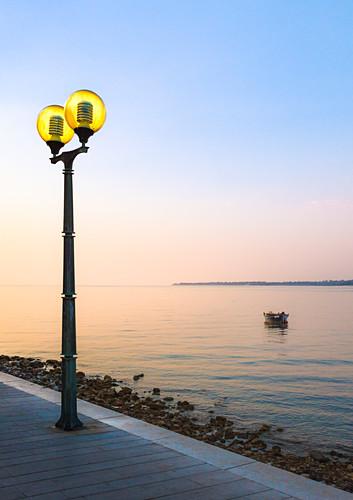 Abendstimmung in Porec, Istrien, Kroatien