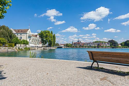 Konstanz Hafen in Konstanz, Baden-Württemberg, Deutschland
