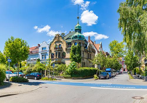 Kramerhaus in der Schottenstraße, Konstanz, Baden-Württemberg, Deutschland