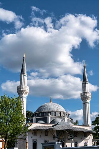 Sehitlik Moschee in Berlin Tempelhof, Deutschland