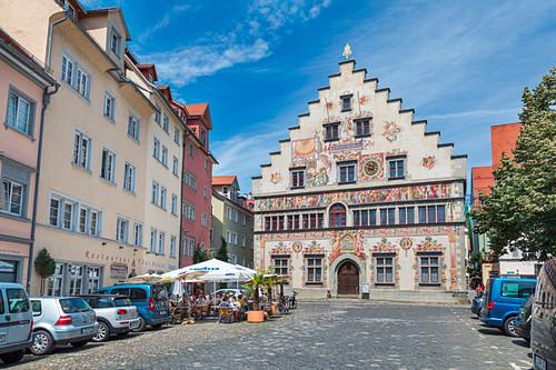 Altes Rathaus auf Lindau Insel in Lindau, Bayern, Deutschland