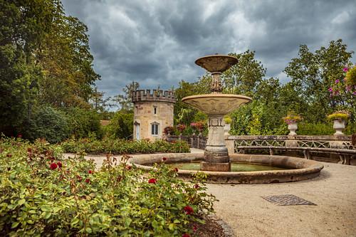 Schloss Rosenau in Coburg, Bayern, Deutschland